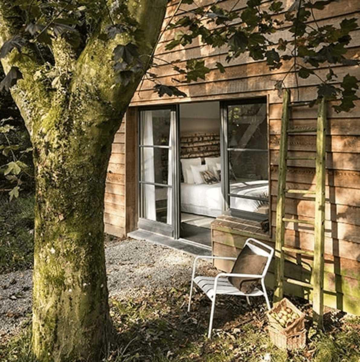 chambre cottage un matin dans les bois