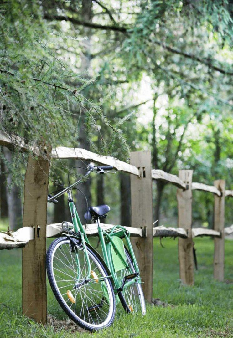 vélo champ un matin dans les bois