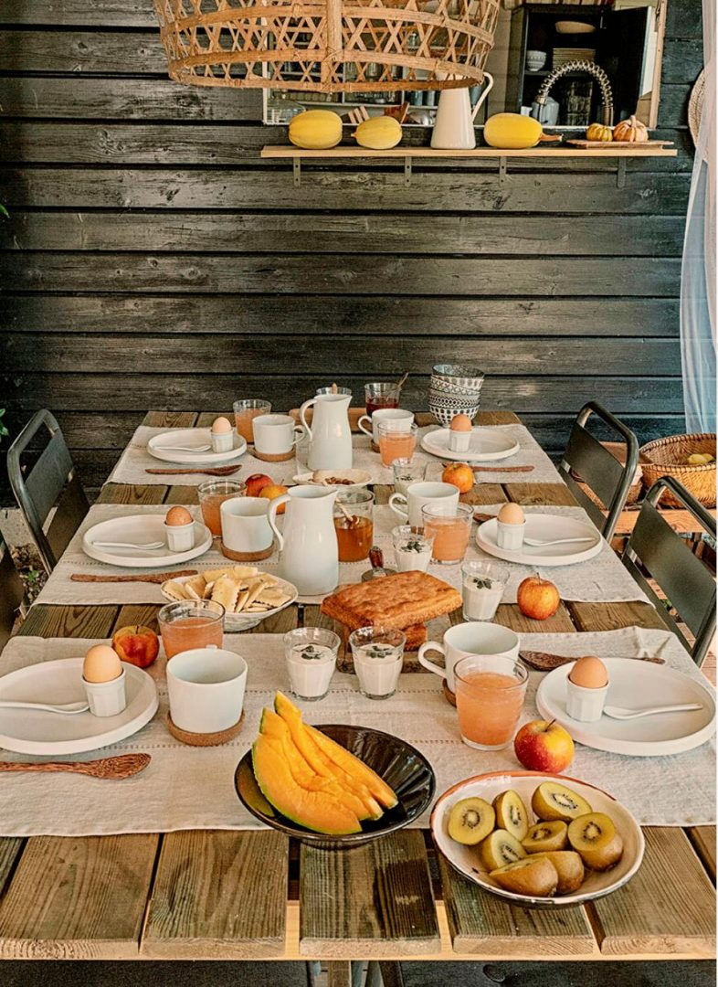 casa sallusti alpes maritimes petit dejeuner