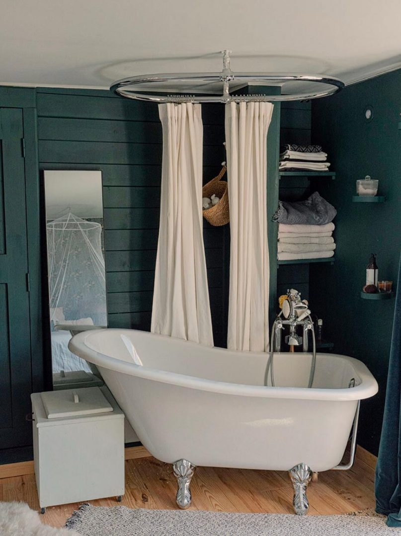casa sallusti baignoire hébergement alpes maritimes
