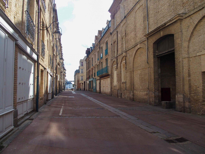 rue dieppe ensoleillée