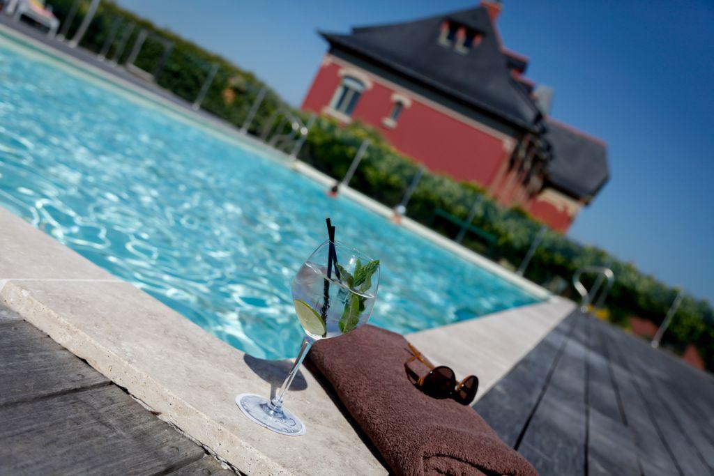 hotel grand large belle ile piscine