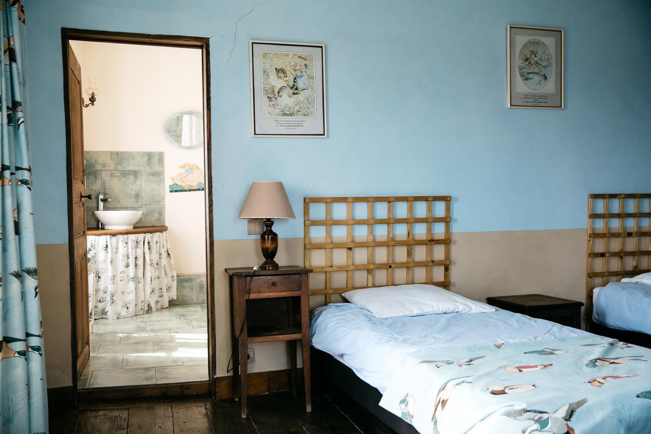 vieille foulonniere mont-saint-michel chambre bleue