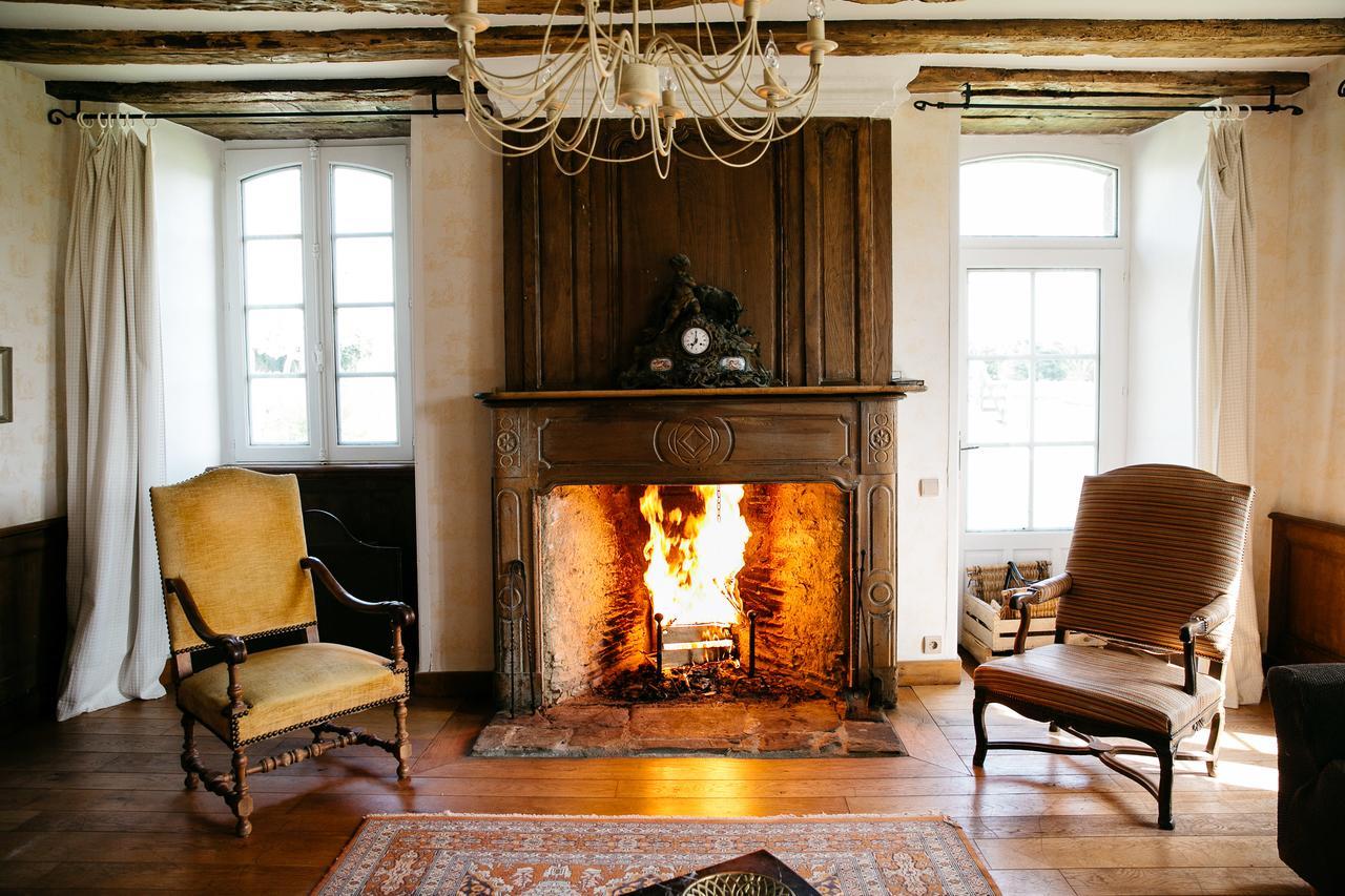 vieille foulonniere mont-saint-michel cheminée